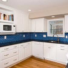 blue tile kitchen backsplash 26 best backsplashes images on glass tiles