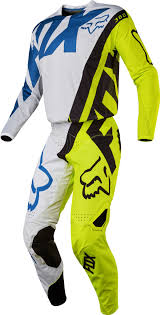 motocross full gear 2017 fox creo kids youth 360 motocross gear white yellow 26227 p
