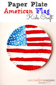 paper plate american flag craft flags paper plate crafts and craft