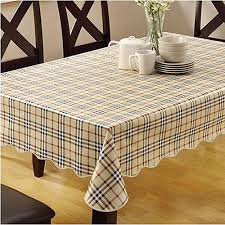 home waterproof pvc tablecloth oilproof non washable plastic pad