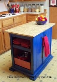 make the best of things nightstands turned kitchen island really