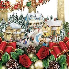 amazon com thomas kinkade the lights of christmas illuminating