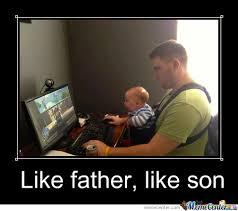 Father And Son Meme - like father like son by augustine bundan meme center