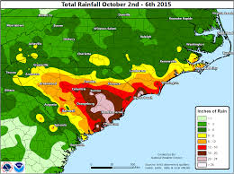 Columbia Zip Code Map by Prolonged Coastal Flood Heavy Rainfall Event October 2 5 2015