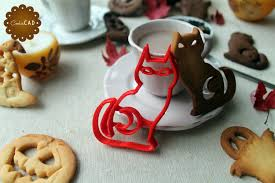 cat cookie cutter for halloween cookie cutter with the shape