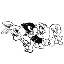baby daffy duck coloring pages murderthestout
