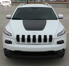 jeep cherokee 2015 t hawk jeep cherokee trailhawk hood vinyl graphics decal stripe