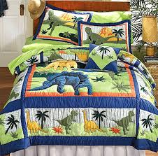 Dinosaur Bedroom Furniture by Dinosaurs Bed Quilt Bedding Set Full Double Size Braden U0027s