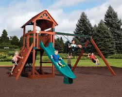 treehouse wooden outdoor playsets