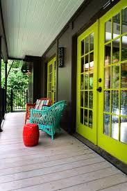 deck paint color porch eclectic with deck chair wood deck