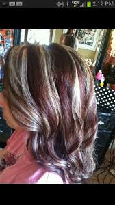 chocolate hair with platinum highlight pictures 287 best hair makeup images on pinterest hair colors make up