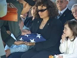 Military Funeral Flag Presentation Dr Matt Houseal Funeral