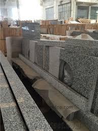 Gray Vanity Top G640 Granite Bathroom Countertops New Grigio Sardo Granite