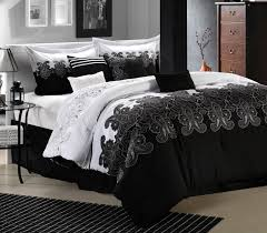 bedroom black and white bedrooms with splash of color teen
