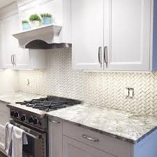 herringbone kitchen backsplash sonoma tilemakers arched herringbone backsplash traditional