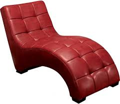 Leather Chaise Lounge Chair Living Room Brilliant New Kalamos Chaise Lounge Sofa In Red