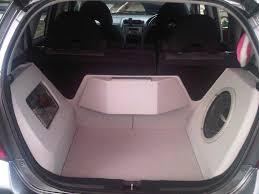 honda odyssey subwoofer car information honda jazz modification audio design