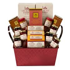 cheese and sausage gift baskets hickory farms savory sweet gift basket hickory farms