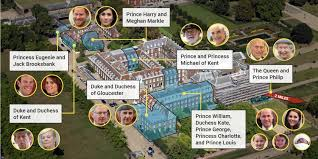 who lives in kensington palace prince harry meghan 13 more royals live in same palace see
