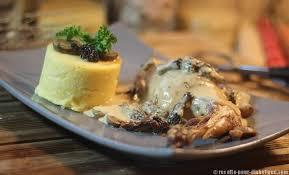 cuisiner les morilles lapin aux morilles et polenta