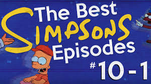 the best u0027simpsons u0027 episodes 10 1 the ringer