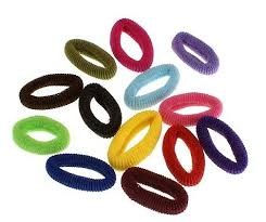 hair rubber bands candy color rope elastic girl s hair ties bands hair rubber band