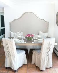 dining chairs pottery barn dining chairs slipcovered dining