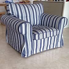 Ektorp Armchair Ikea Ektorp Armchair Abyn Blue Home U0026 Furniture On Carousell