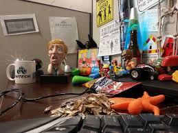 coworkers gave me yet another desk toy work geek offic u2026 flickr