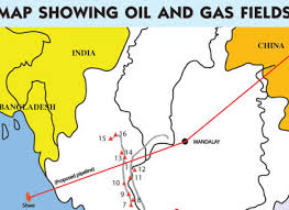offshore gas fields the myanmar times
