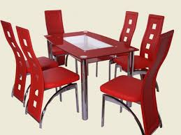 Gratifying Concept December S Archives  Notable Photo - Red dining room chairs