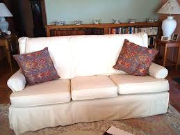 slipcovers for pillow back sofas 12 best slipcover magic before afters images on pinterest