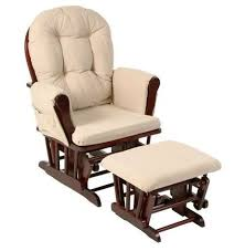 Stork Craft Hoop Glider And Ottoman Set Cherry Glider Ottoman Baby Rocking Chair Lazy Boy Recliner Lounge