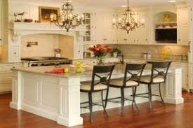 kitchen with island and breakfast bar portable kitchen islands with breakfast bar foter