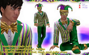 mardi gras suits second marketplace g t mardi gras suit mesh tuxedo