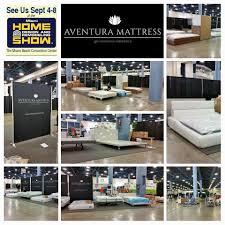 aventura mattress preparation for home show at miami beach