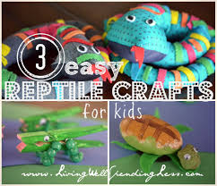reptiles crafts for kids