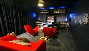 amusing home cinema decor movie themed bedrooms theater design