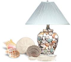 Lamps Home Decor Nautical Gifts Shells Lighthouses Home Decor Accessories