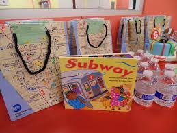 New York City Themed Party Decorations - new york city subway birthday party theme train subway