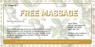 gift voucher samples free massage gift certificate templates 20 massage voucher