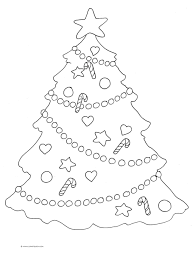 christmas tree sketch pencil drawing christmas lights decoration