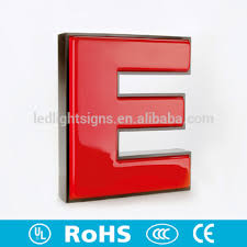 different style well made acrylic stainless steel vacuum alphabet