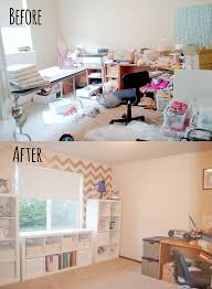 Craft Room Makeovers - eek to chic craft room makeover itsy belleitsy belle