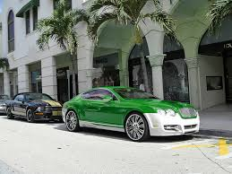 lime green bentley green posts