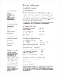 resume exles simple academic resume templates academic resume exles simple resume