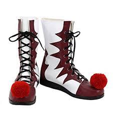 Halloween Costume Boots Amazon Clown Cosplay Shoes Halloween Clown Joker Cosplay