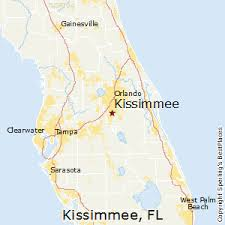 map of kissimmee best places to live in kissimmee florida