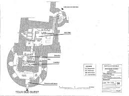 chateau floor plans montbrun castle chateau maps and plans