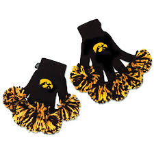 spirit halloween birmingham al iowa hawkeyes ncaa spirit fingerz pom pom gloves spirit fingerz